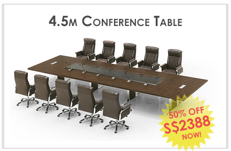4.5m Conference Table