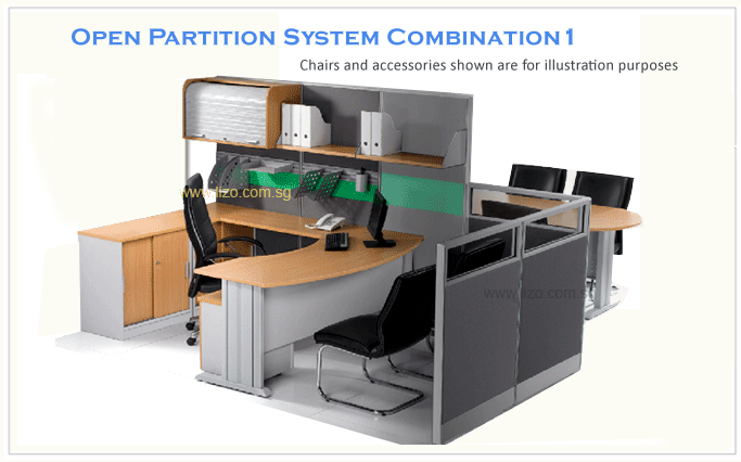 System Partition Combination 1 | LIZO Singapore